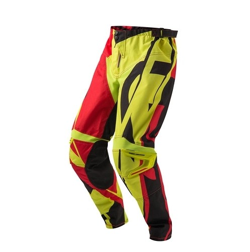 Acerbic Profile Pants Yellow and Red