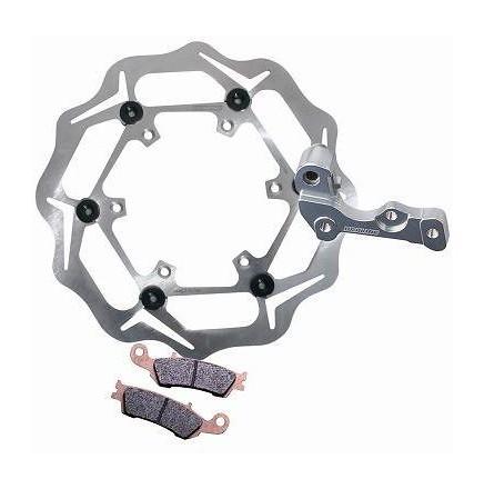 Braking W-OPEN Oversized Front Brake Rotor Kit