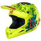 Leatt Helmet GPX 4.5 Junior V22 Lime/Teal