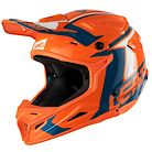 Leatt Helmet GPX 4.5 Junior V22 Orange/Denim