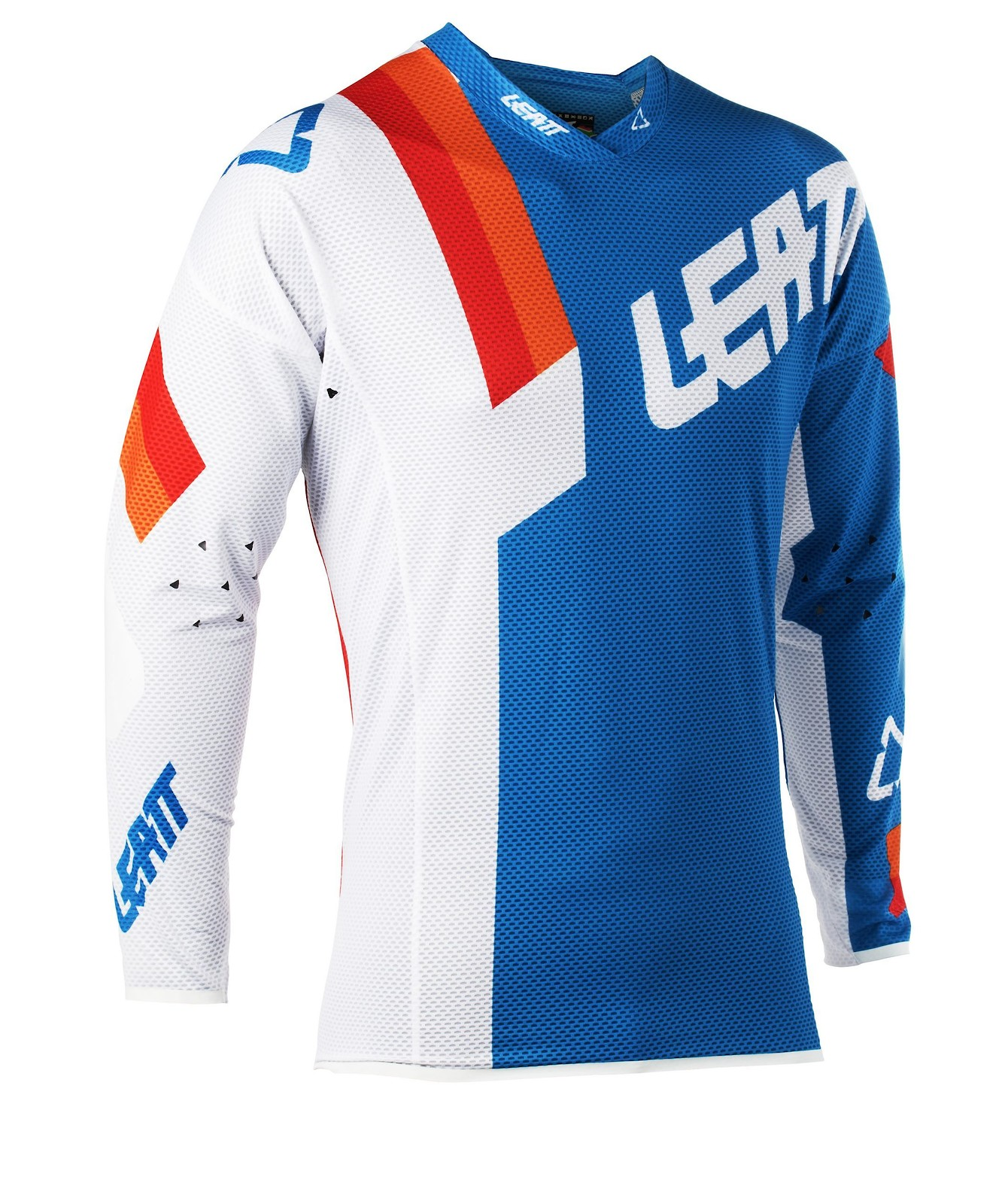 Leatt MX Jersey GPX 4.5 Lite Nero-Bianco L