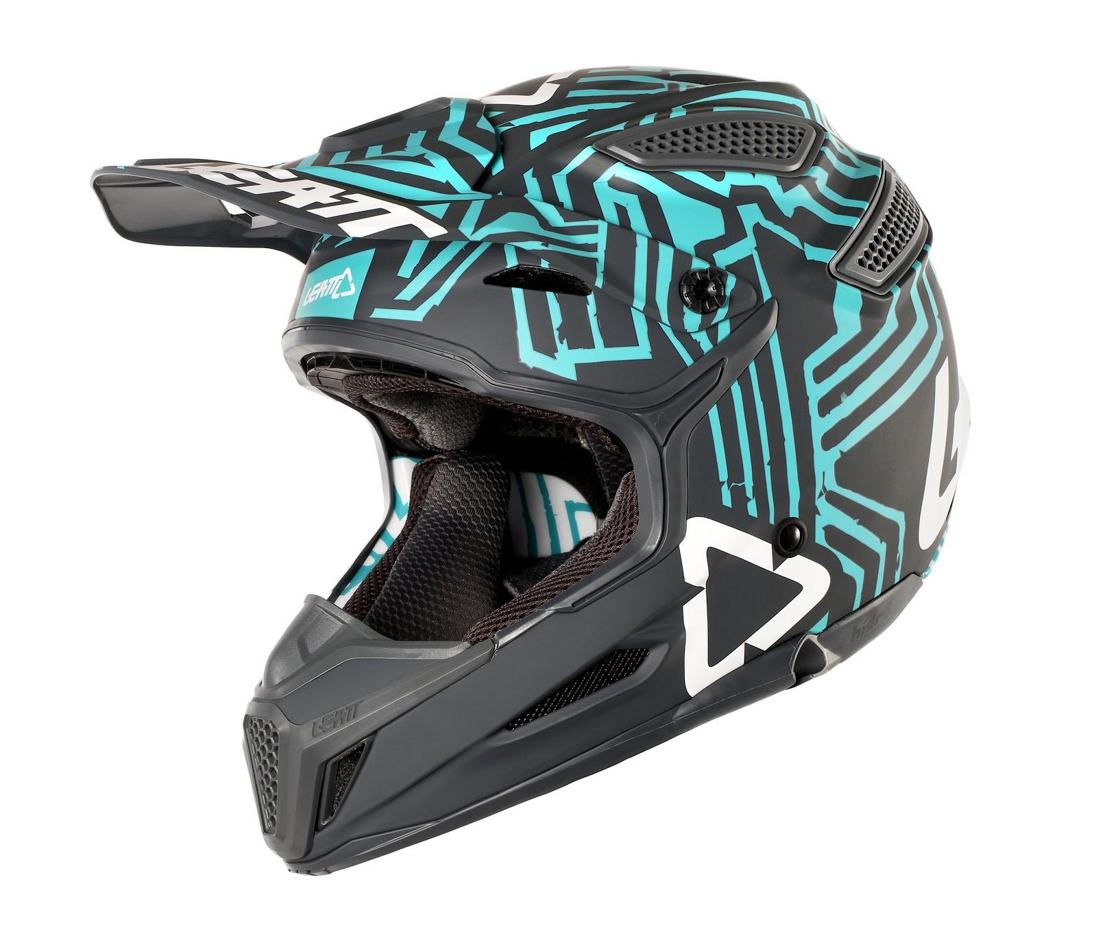 Helmet GPX 5.5 V11 GreyTeal 2018_3