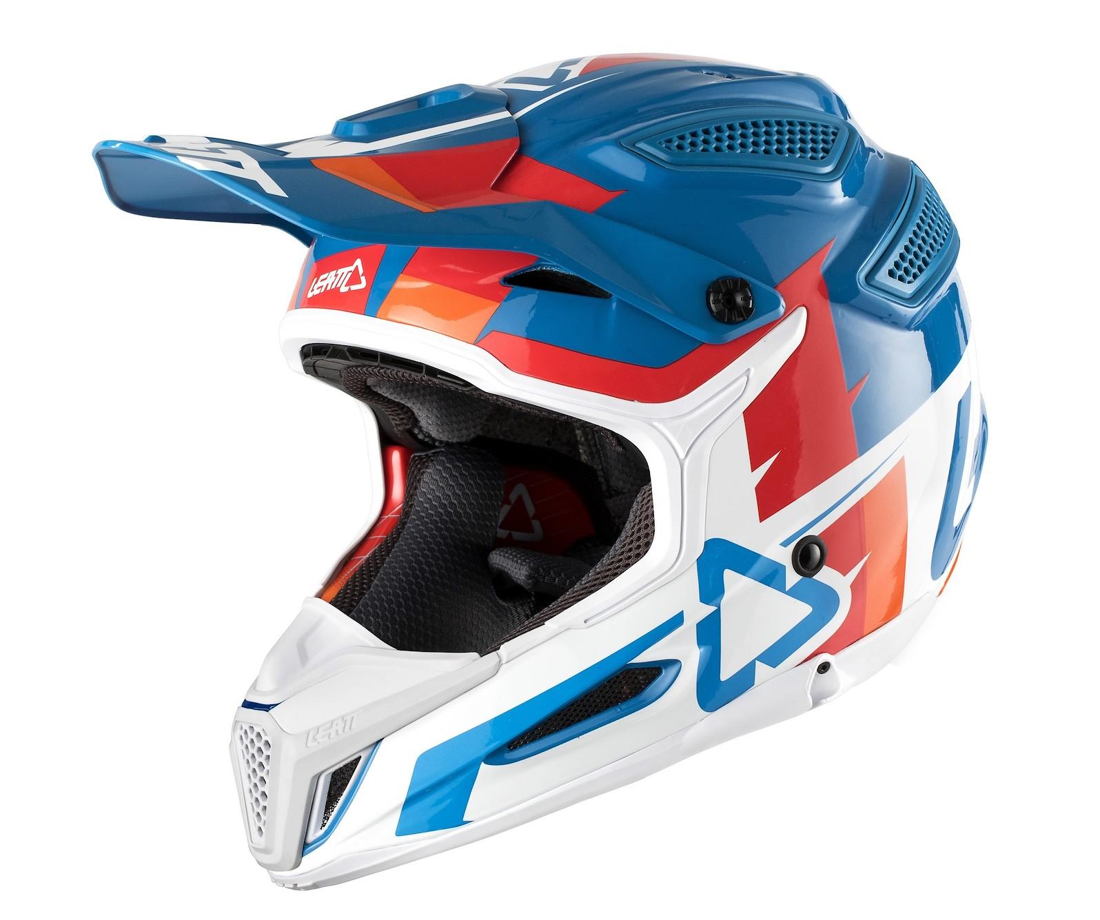 Helmet GPX 5.5 V10 BluWhite 2018_1