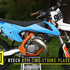 Rtech KTM Two-Stroke Plastic Kit
