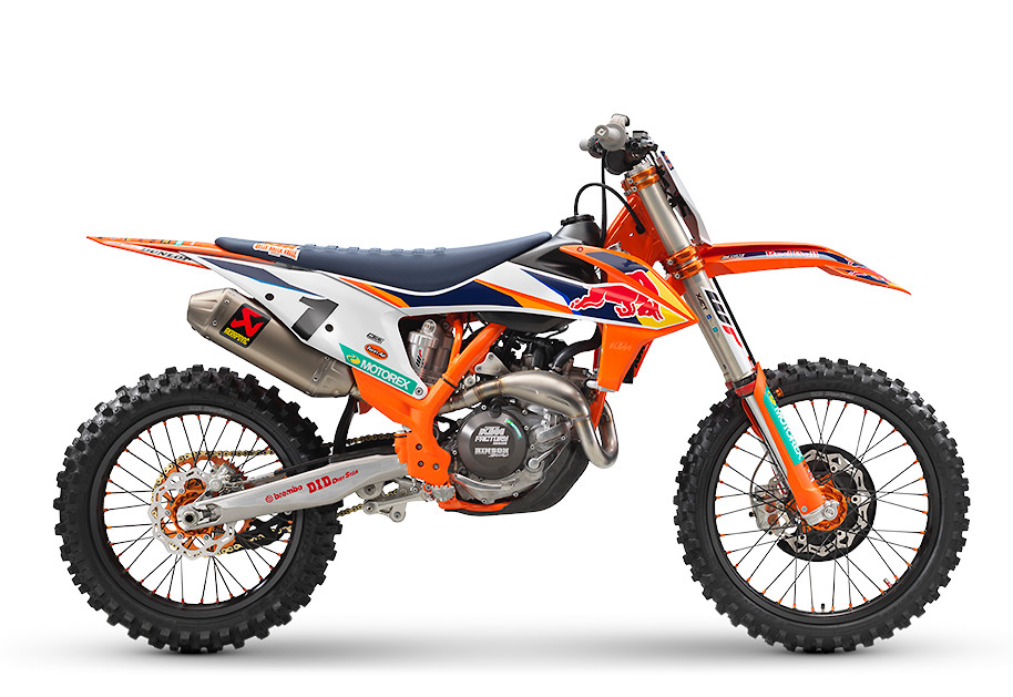 2021 KTM 450 SX-F Factory Edition First Look - Cycle News