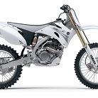 2007 Yamaha YZ250F (White)