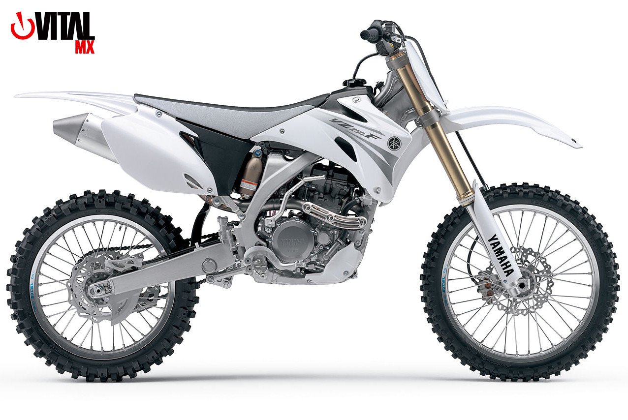 2007 Yamaha YZ250F (White) - Reviews, Comparisons, Specs - Motocross