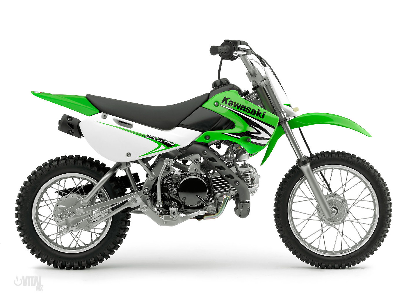 2008 Kawasaki Klx110 Reviews Comparisons Specs Motocross Dirt Bike Bikes Vital Mx