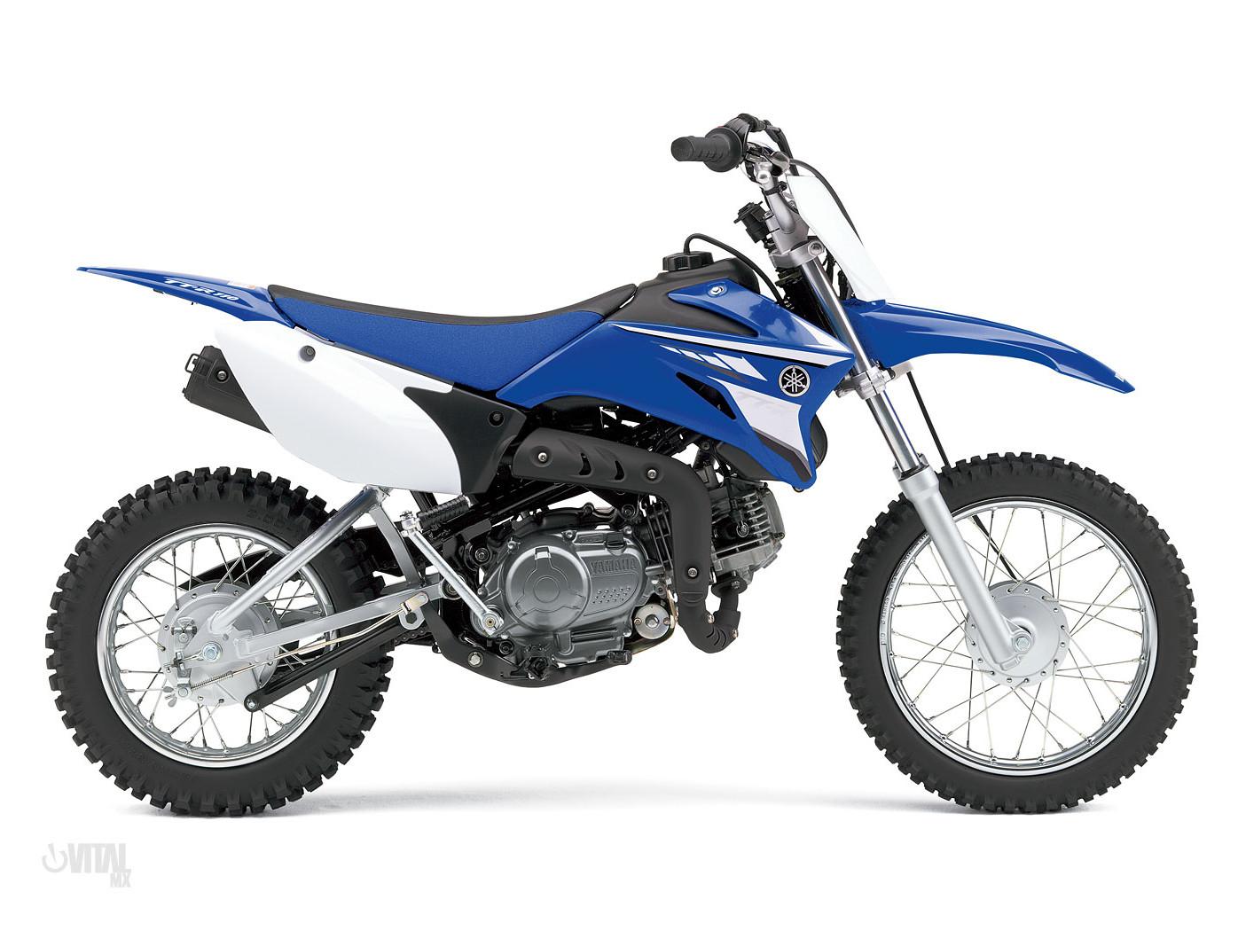Plastic No Number Plate Cover Kit For Yamaha Dirt Pit Bike TTR110 TTR 110E
