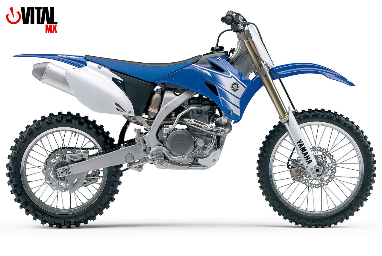 2007 Yamaha YZ450F (Blue) - Reviews, Comparisons, Specs - Motocross ...