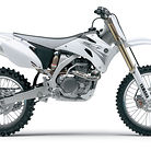 2007 Yamaha YZ450F (White)