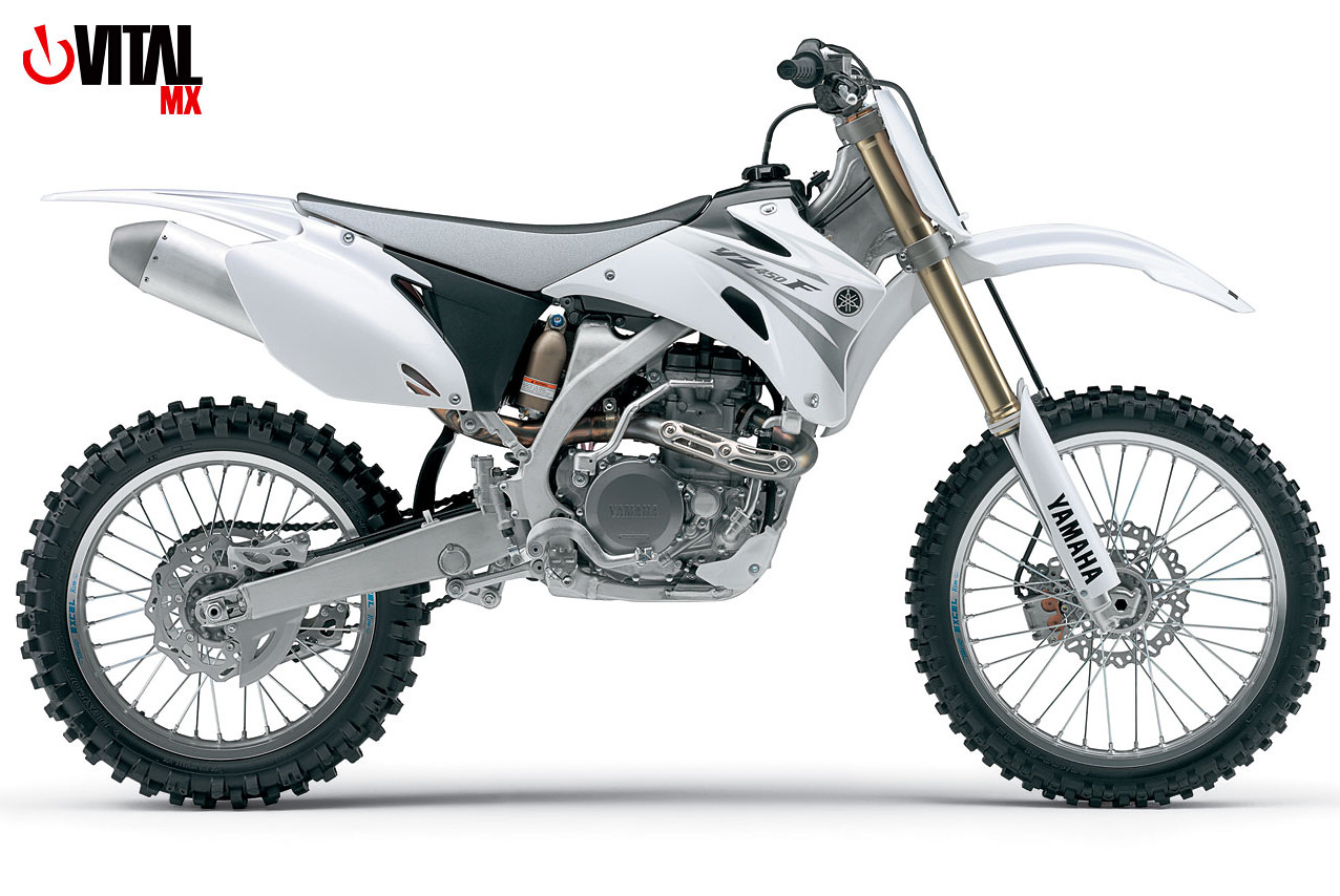 2007 Yamaha YZ450F (White) - Reviews, Comparisons, Specs - Motocross ...
