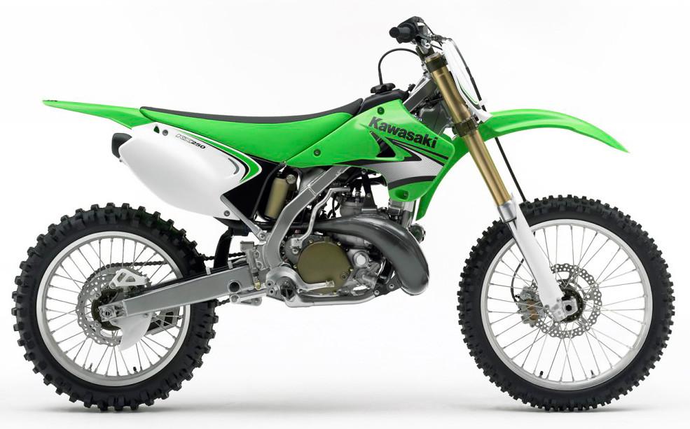 2007 Kawasaki KX250  2007 Kawasaki KX250