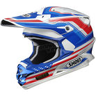 Shoei Blue/Red/White TC-2 Salute VFX-W Helmet