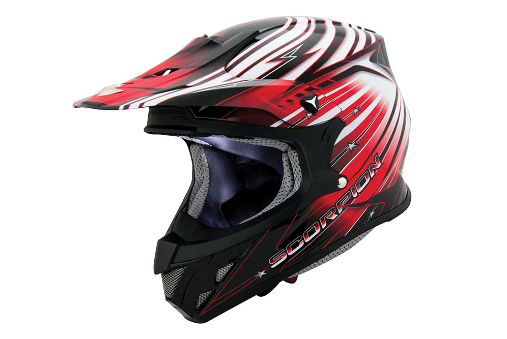Scorpion Sports VX-R70  Helmet scorpion vx-r70 red