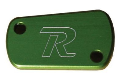 Ride Engineering Rear Brake Reservoir Cap Green  RE-MCCR-KXRM-GN_is