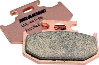 Braking Cm44 Brake Pads Rear  BK-CM44-686_is