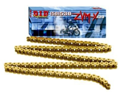 DID Did 530 Zvmx X Ring Gold Chain 120 Links  DID-530-ZVMX-02_is