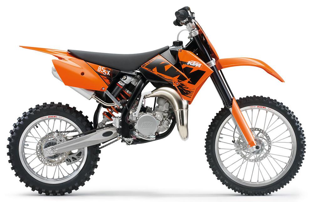 2007 Ktm 85 Sx Reviews Comparisons Specs Motocross