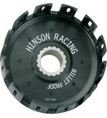 Hinson Billet Clutch Basket With Kickstarter Gear  HIN-B-CRF2-10_is