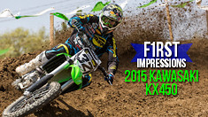 First Impressions: Riding the 2015 Kawasaki KX450F