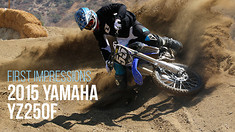 First Impressions: Riding the 2015 Yamaha YZ 250F