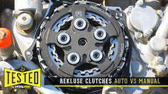 Tested: Rekluse Clutches / Auto VS Manual