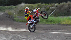 Davy Pootjes Ripping on a KTM125