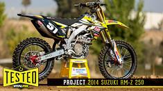 Tested: Project Suzuki RM-Z 250
