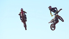 RONNIE MAC vs TRAVIS PASTRANA vs TREVOR PIRANHA