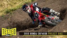 Tested: 2015 Honda CRF450R Project Bike