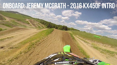 Onboard: Jeremy McGrath - 2016 KX450F Intro