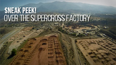 Over the Supercross Factory