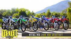 2016 Vital MX 450 Shootout: In-Depth