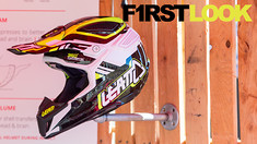 First Look: Leatt GPX 5.5 and 6.5 Helmet