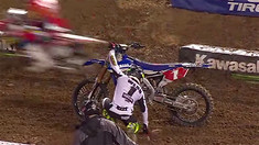 2016 Oakland Supercross Highlights: 250 Class - Cooper Webb Loses the Points Lead!
