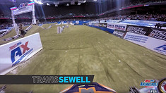 Onboard: Ben Lamay vs Travis Sewell - AMSOIL Arenacross Head to Head Race