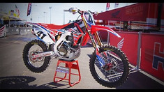 Inside Trey Canard's Factory Honda CRF450
