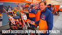 Roger Decoster on Ryan Dungey's Penalty in Detroit