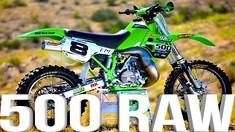 KX500 2 Stroke RAW featuring Destry Abbott