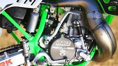 Inside Destry Abbott's Special Edition Kawasaki KX500