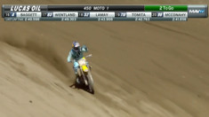 Video: Ken Roczen Has Bike Issues During Moto 1 - Glen Helen Motocross