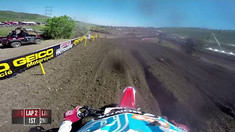Onboard: Cole Seely (Ryan Dungey Crash Footage) - Thunder Valley MX