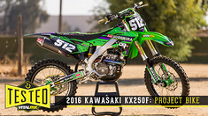 Tested: 2016 Kawasaki KX250F - Project Bike