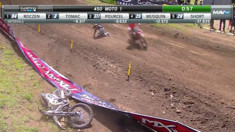 CRASH: Christophe Pourcel - 2016 Washougal Motocross National