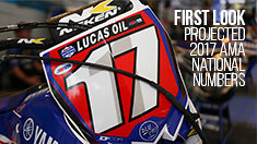 First Look: Projected 2017 AMA National Numbers