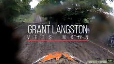 CRASH: Grant Langston - 2016 Vets MXDN