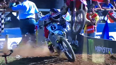 CRASH: Jason Anderson is Landed on After Winning MXoN Moto 2