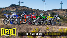 2017 Vital MX 250F Shootout