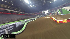 Onboard: Cyrille Coulon - 2017 Manchester Arenacross UK Track Preview